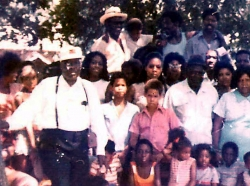 Reunion Photo from Stamps, Ark. circa 1974...